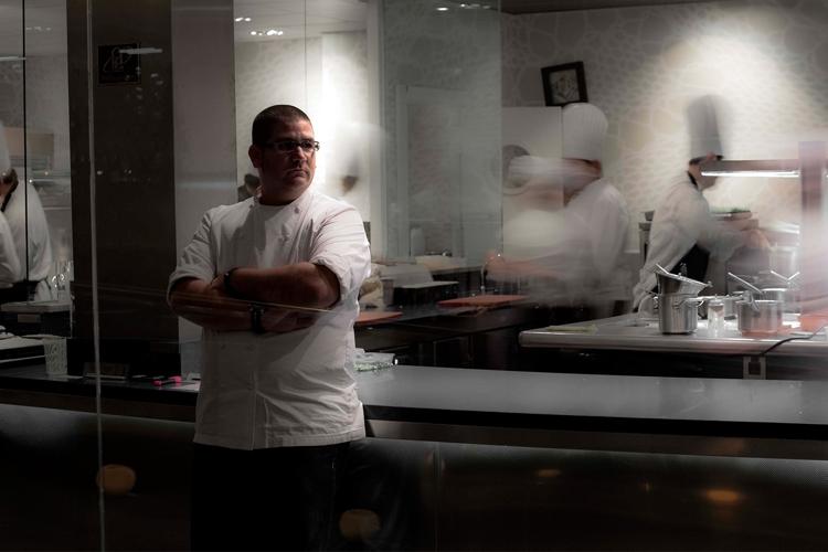 """Dani García Restaurante. Hotel Puente Romano de Marbella. Evento """"A cuatro manos"""" 2015"""