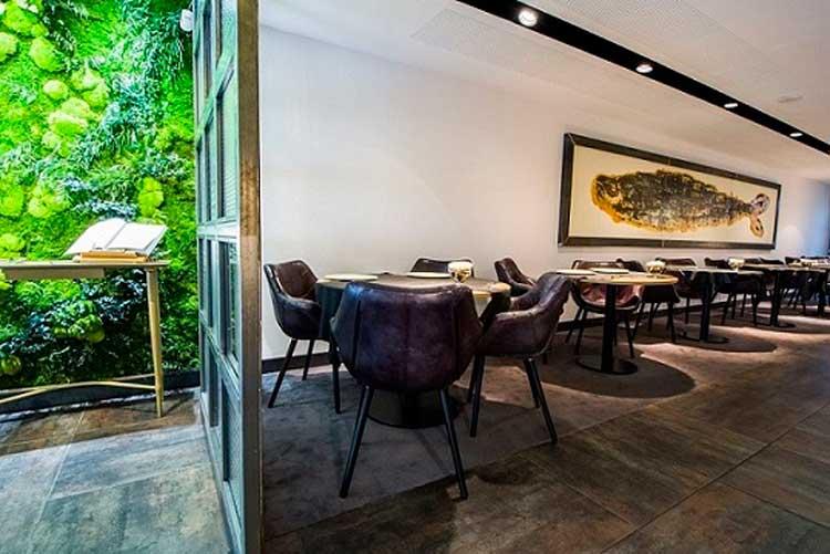 Interior del Sergi Arola Restaurante