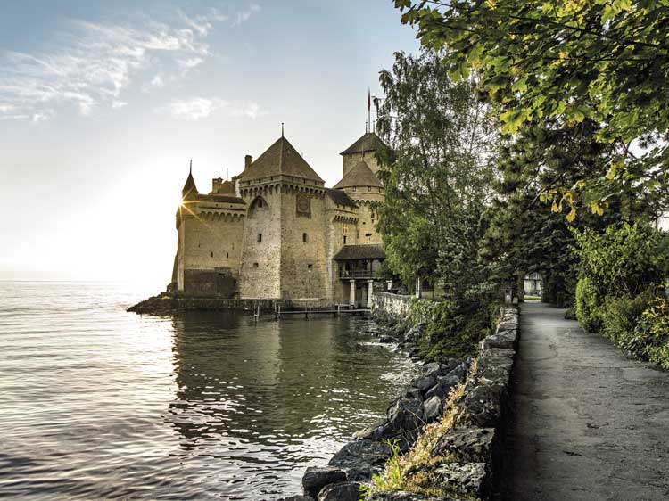 Castillo de Chillon, Suiza