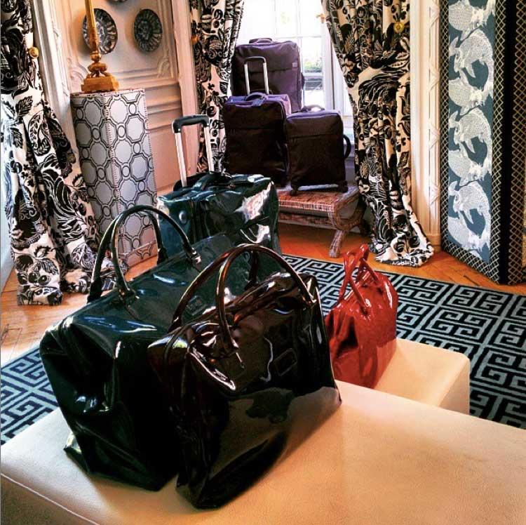 La presentación de la colección de Lipault tuvo lugar en el Hotel Santo Mauro de Madrid. Foto © Tu Gran Viaje