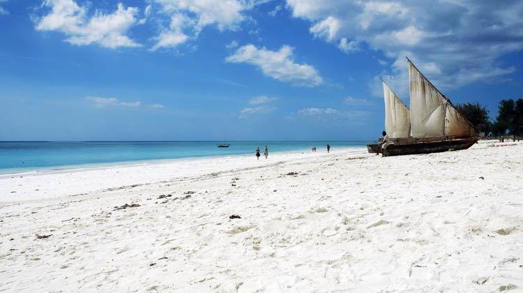 Playa de Nungwi, Zanzíbar