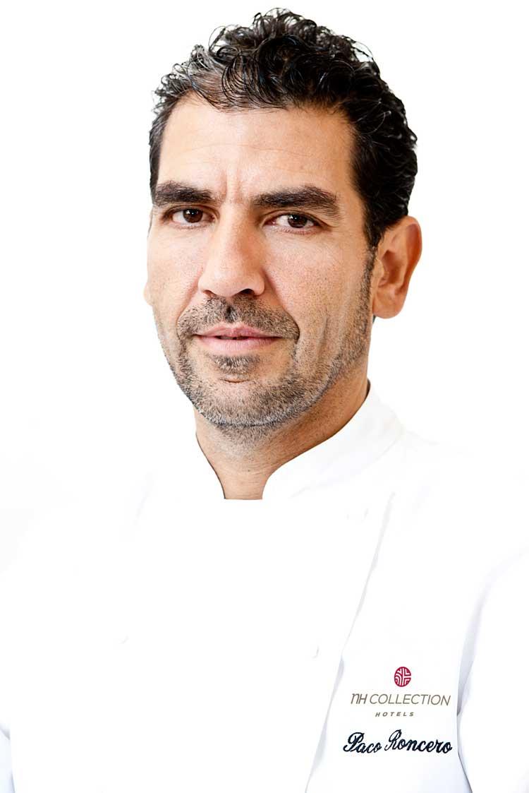 El chef Paco Roncero