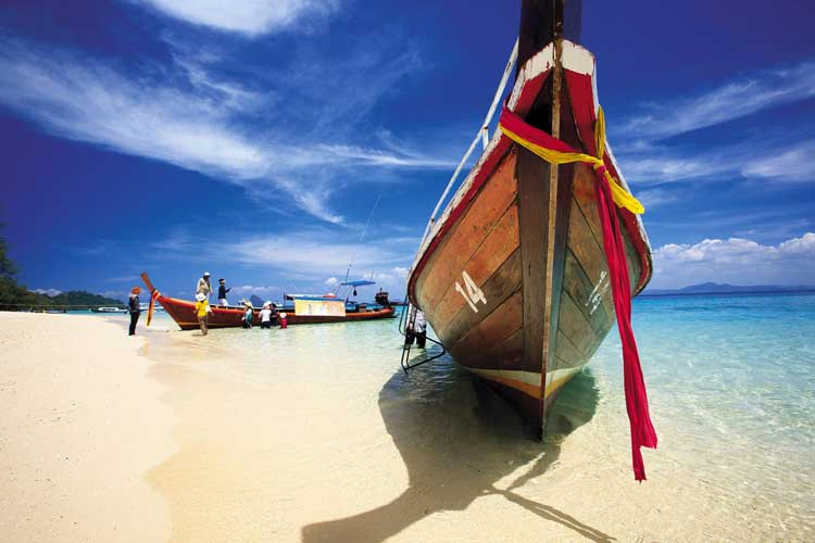 Playa de Tailandia