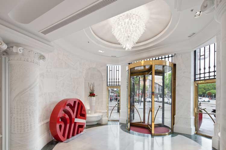 Hall del NH Collection Paseo del Prado, Madrid
