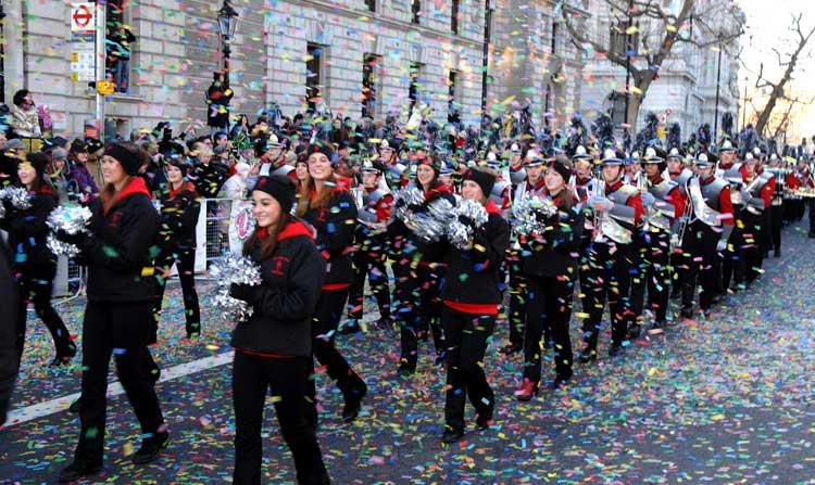 Desfile de Año Nuevo de Londres. Priceless Madrid. MasterCard