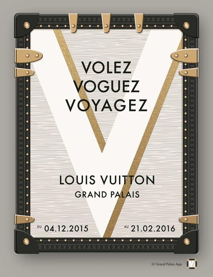 """Exposición """"Volez, Voguez, Voyagez"""" en el Grand Palais de París"""