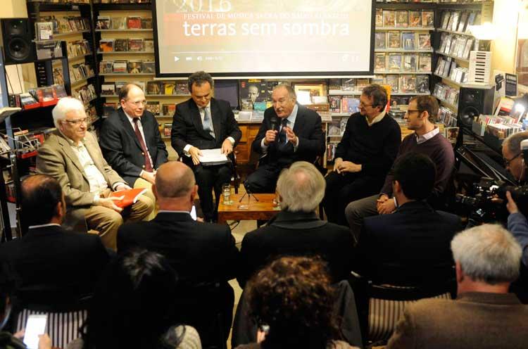 Presentación en Madrid del festival de Musica Sacra Terras Sem Sombra