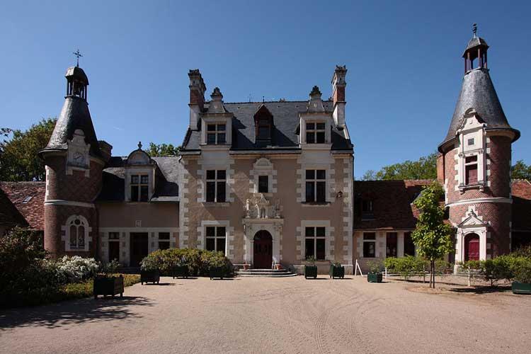 Châteaux de Troussay. Foto  Creative Commons 3.0 Manfred Heyde