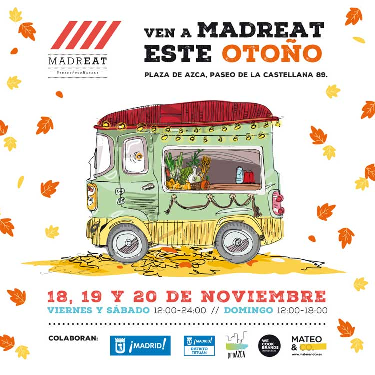 Horarios de MadrEat en Azca con Tu Gran Viaje