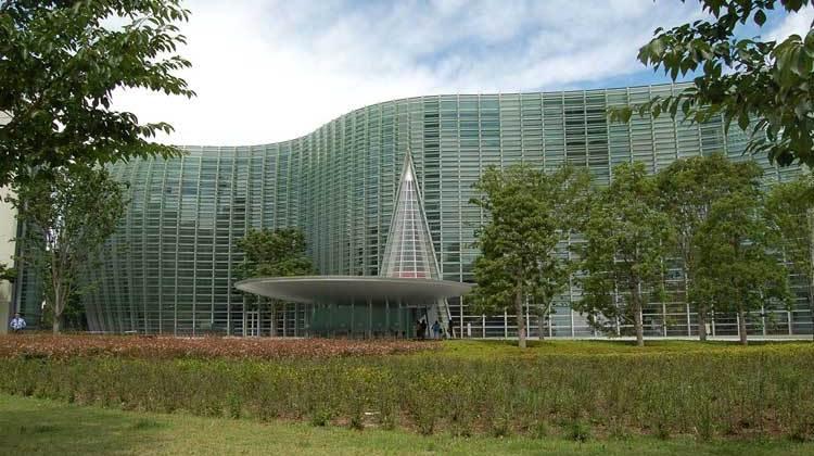 Centro Nacional de Arte de Tokio. El Triángulo del Arte de Tokio en Tu Gran Viaje