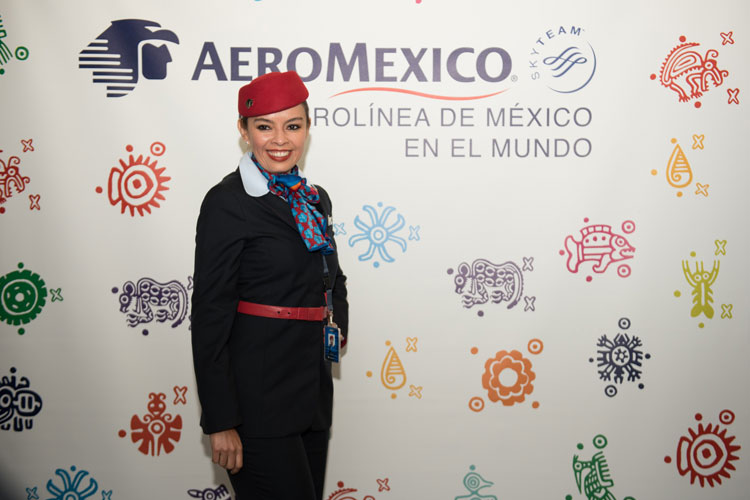 Nuevo dreamliner de Aeroméxico en Tu Gran Viaje
