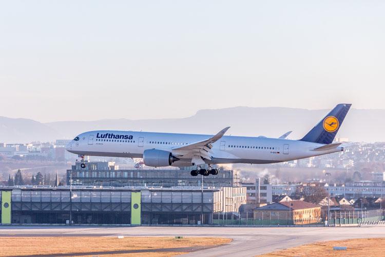 Airbus A350-900 de Lufthansa