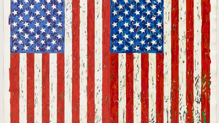 Flags, Jasper Johns