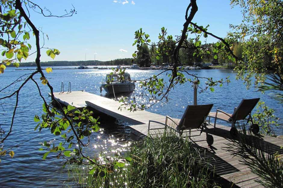 villa takila embarcadero alquiler cabaña finlandia verano 2017