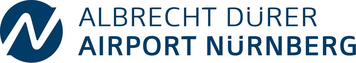 logo del aeropuerto de Nuremberg