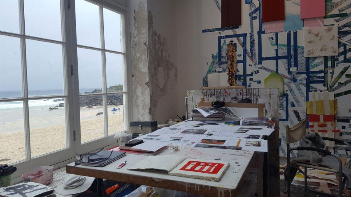 Uno de los estudios del complejo Porthmeor Studios © Tu Gran Viaje. Visitar la galería Tate St Ives. Revista Tu Gran Viaje
