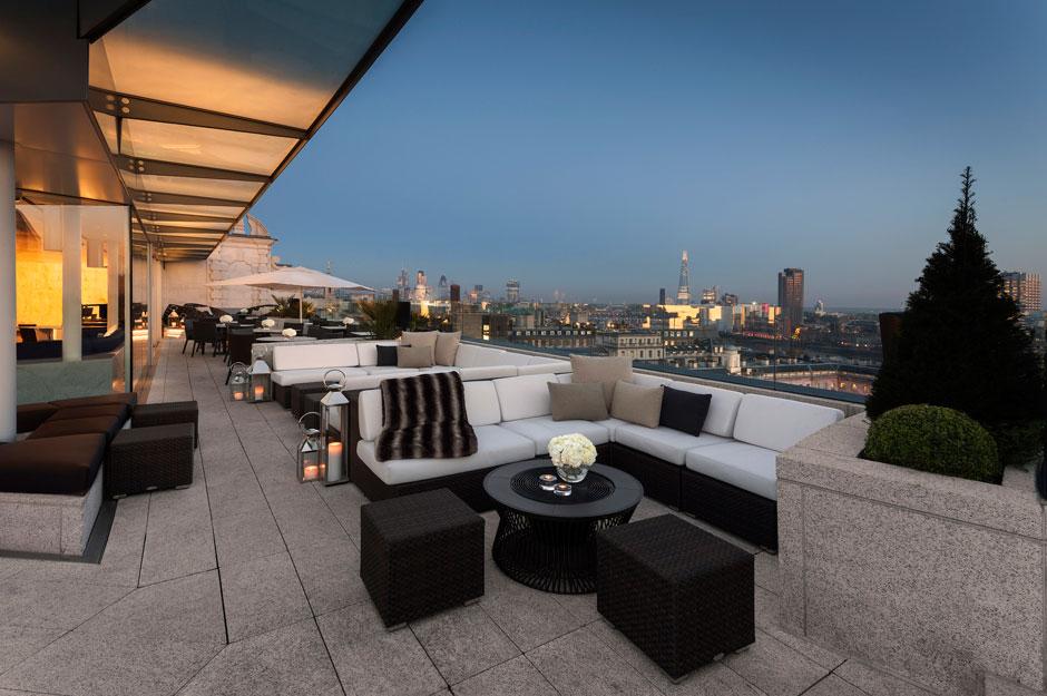 Apres-Ski en la terraza del hotel ME London | Revista Tu Gran Viaje