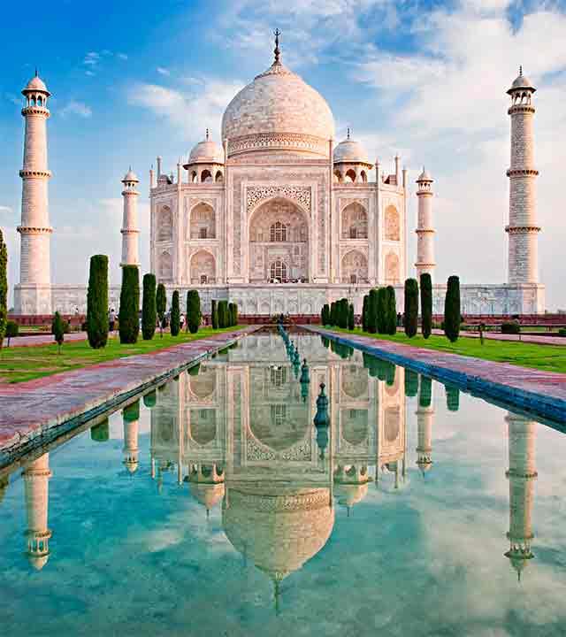 Taj Mahal, Agra. © Olena Tur / Shutterstock | Turismo en Rajastán | Tu Gran Viaje