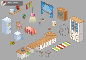 Habbo: Kitchen Concept Design