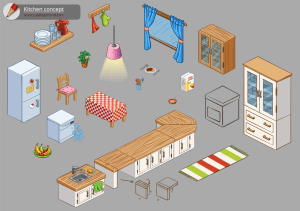 Habbo: Kitchen Concept Design