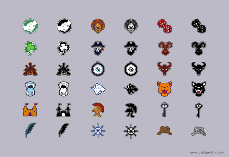 Palringo: Icons Game Art Assets
