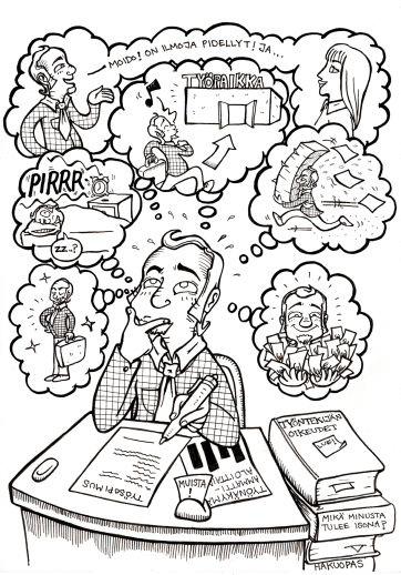 Book Illustration for a Career Guide Book