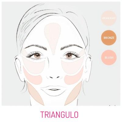 Maquillaje Rostro Triangular