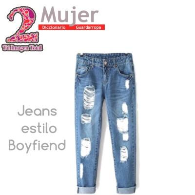 Jeans estilo Boyfriend