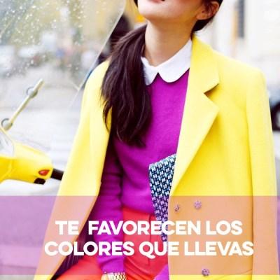 Sabes que colores te favorecen