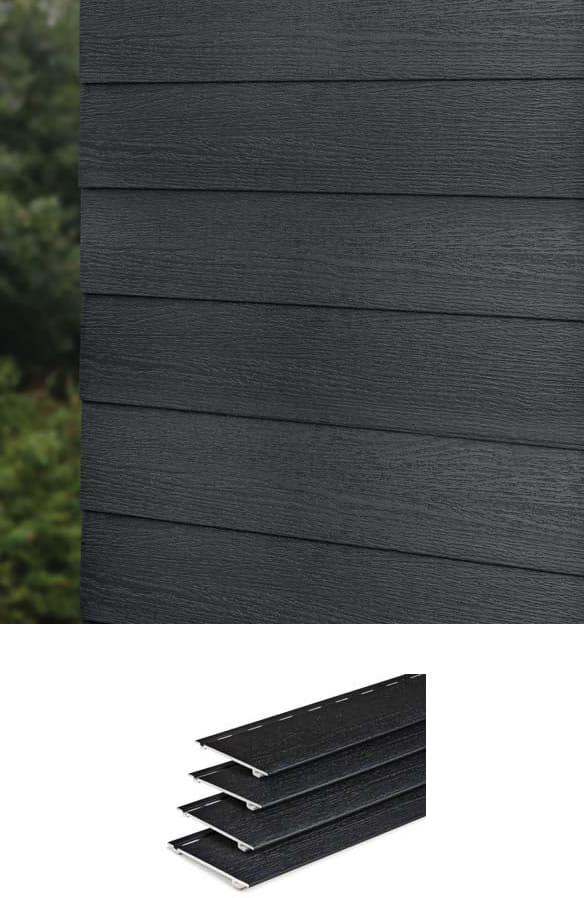 PVC timber cladding