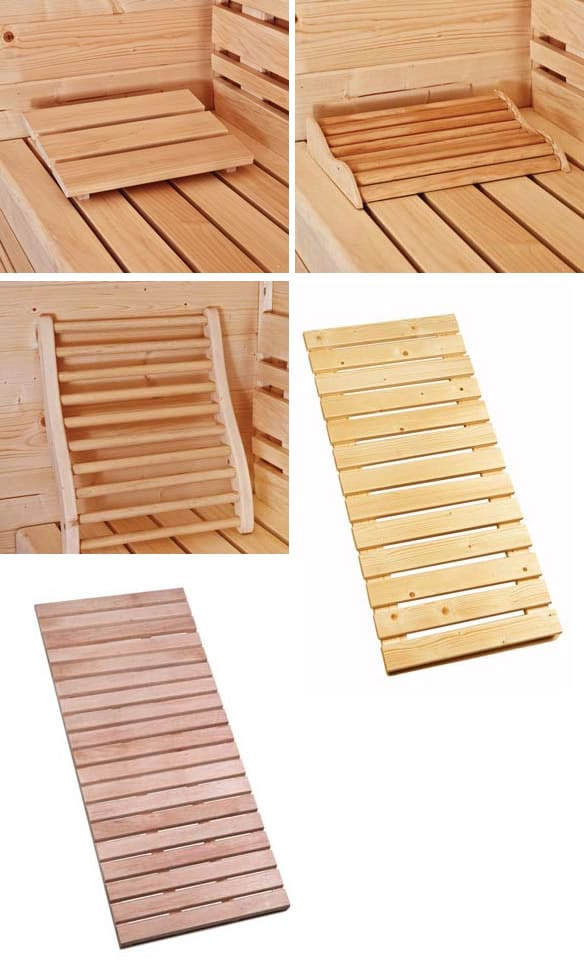 New range of boards for the sauna's
