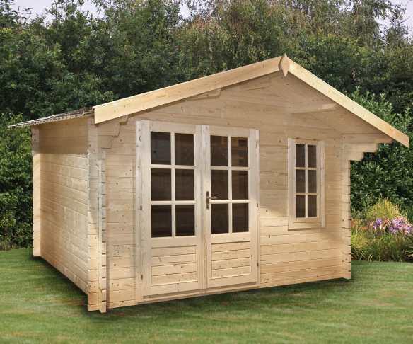 The Ulrik log cabin