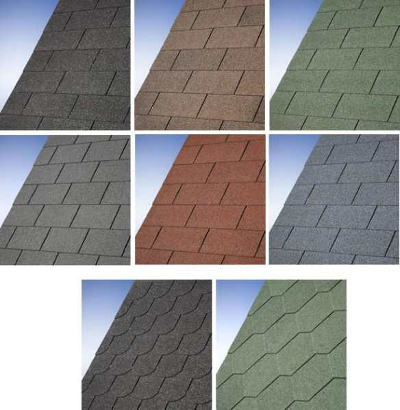 Felt IKO shingles supplied with our log cabins and garden buildings