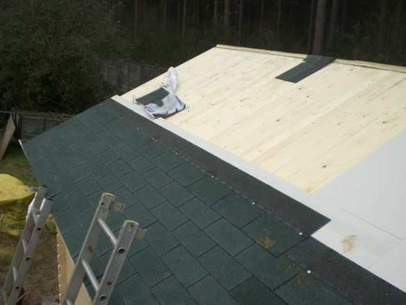 Insulating a log cabin roof