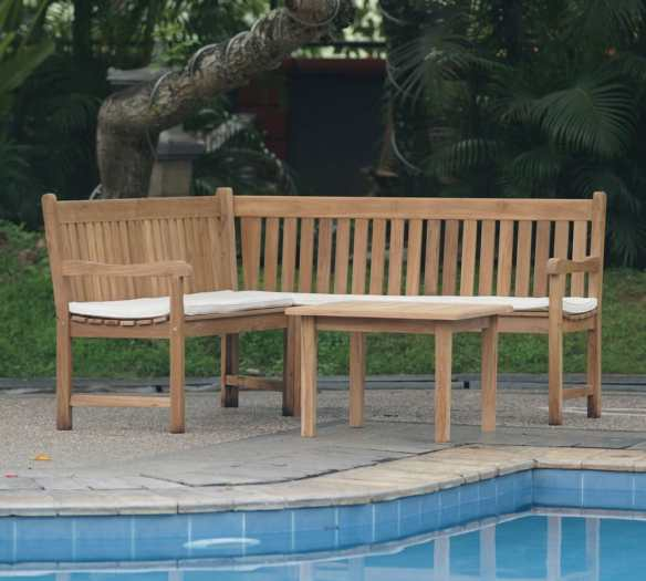 The new teak Croner Bench, The oxford