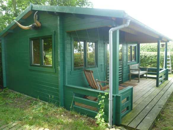 A very handy veranda adds to the space