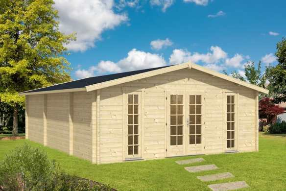 Bespoke Log cabin - Dona - A huge log cabin and a massive Bargain!!