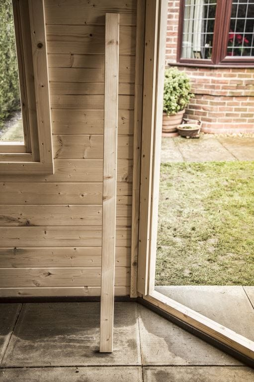 Unidentified timber is a common occurrence and is mainly packing pieces but are very handy for additional trim as required.