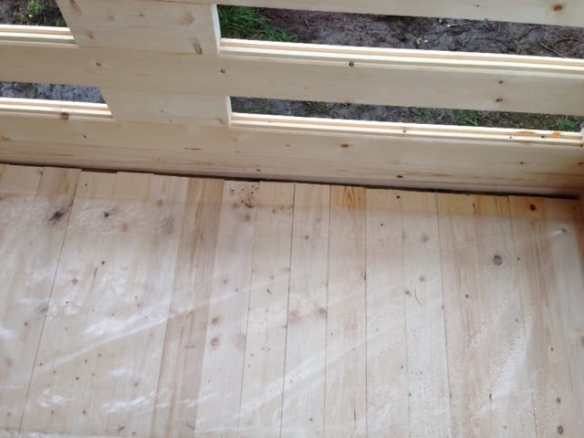 Do not use ordinary flooring on a Veranda!