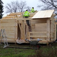 Tuin Log Cabin Type  Construction Advice