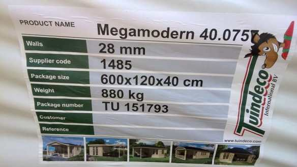 Alternative label , these numbers are important to note before your installation and kept in case of a problem later.