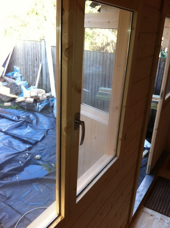 Double glazing in log cabins - all of our 58mm and above are but why isn't it offered with thinner logs much?