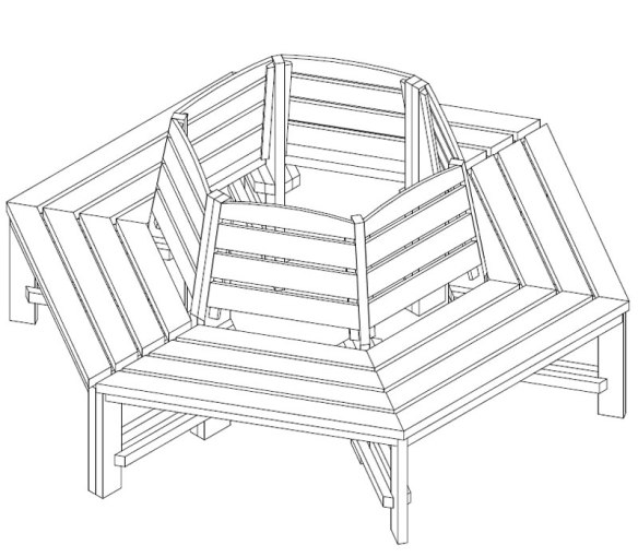 Tree seat instructions - click for an example