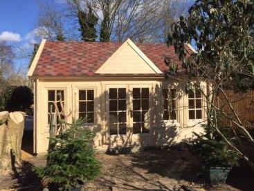 Clockhouse log cabin