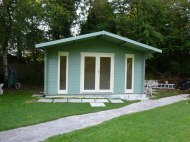 Gustave log cabin