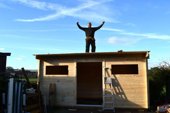 You will enjoy this .... a log cabin is very enjoyable to install. A great sense of achievement is felt.