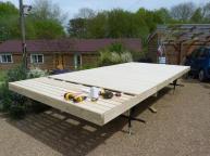 Shepherd Hut Installation Process