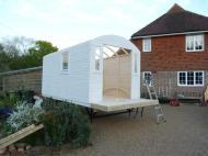 Shepherd Hut Primed