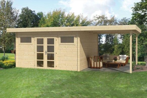 The Gigamodern Log Cabin