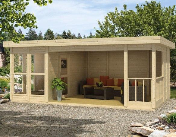 The Lisette Log Cabin